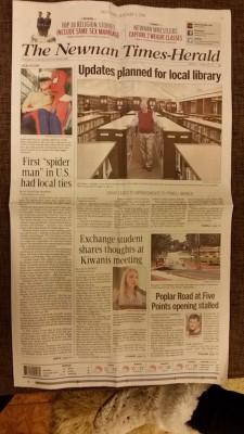 Newman Times-Herald 1
